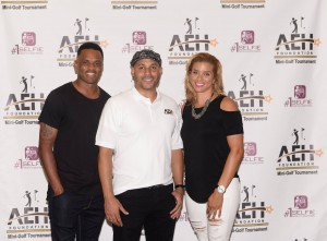 Juan Dixon, ex-U of MD and Washington Wizards NBA player came to support the foundation and his wife Robyn