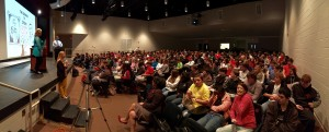 A packed house!