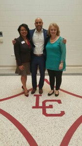 With Herndon Foundation Exec. Dir. Jennifer Hobbs-Hill and teacher Christie Ware Bryan