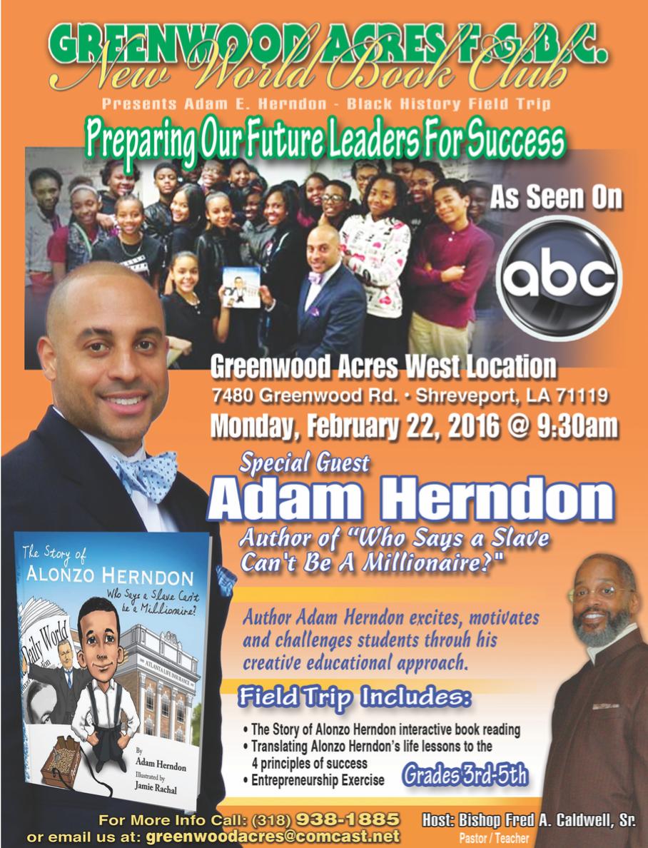 black history month 2016 in Shreveport LA Monday event