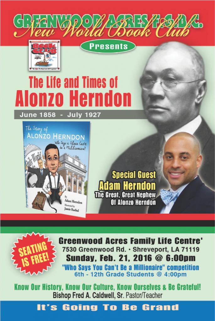black history month 2016 in Shreveport LA Sunday event